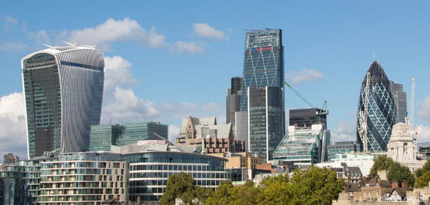 London office skyline
