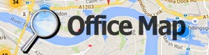 Browse serviced offices on a map